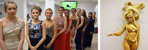 Hair & Beauty Students Show Off their Creativity & Skill in Competition