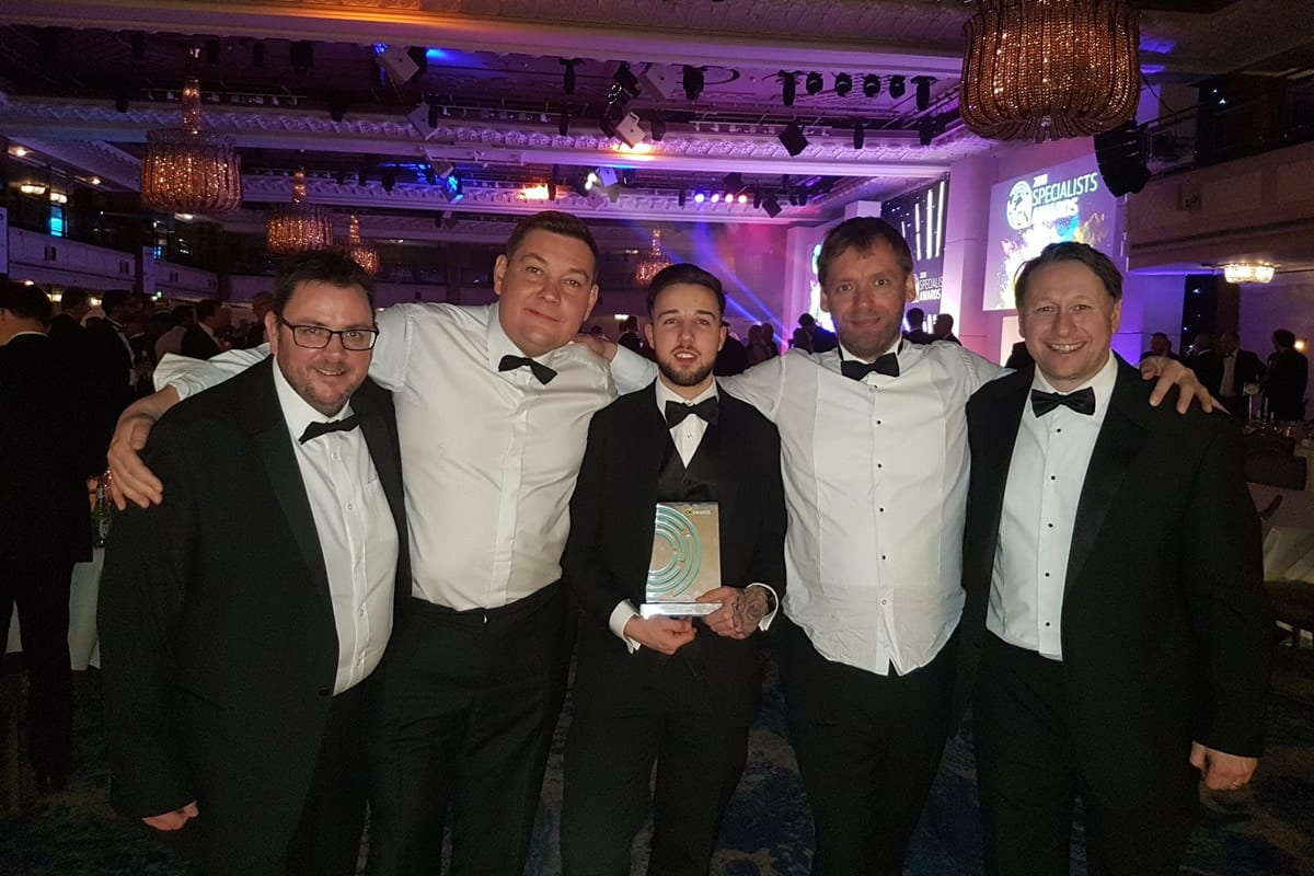 Brickwork Apprentice wins apprentice of the year award!