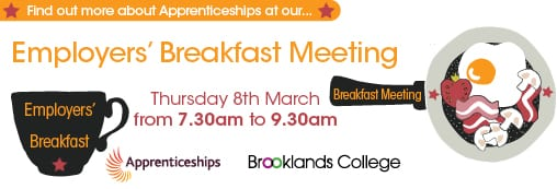 Apprenticeship Employers' Breakfast Meeting