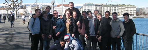 Motorsport Engineering students take a trip to the Geneva Motor show