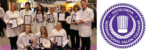 Catering students excel at Salon Culinaire 2018