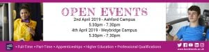 April Open Events email footer
