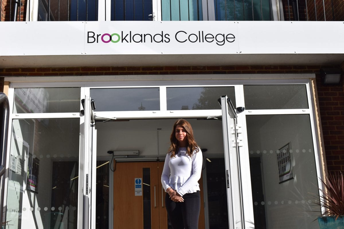 Shelbie-Louise Baker, Staff Apprentice at Brooklands College