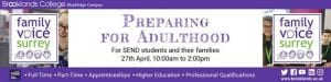 Preparing for Adulthood Event email footer