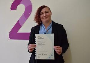 Eloise Loader, level 3 Business student.