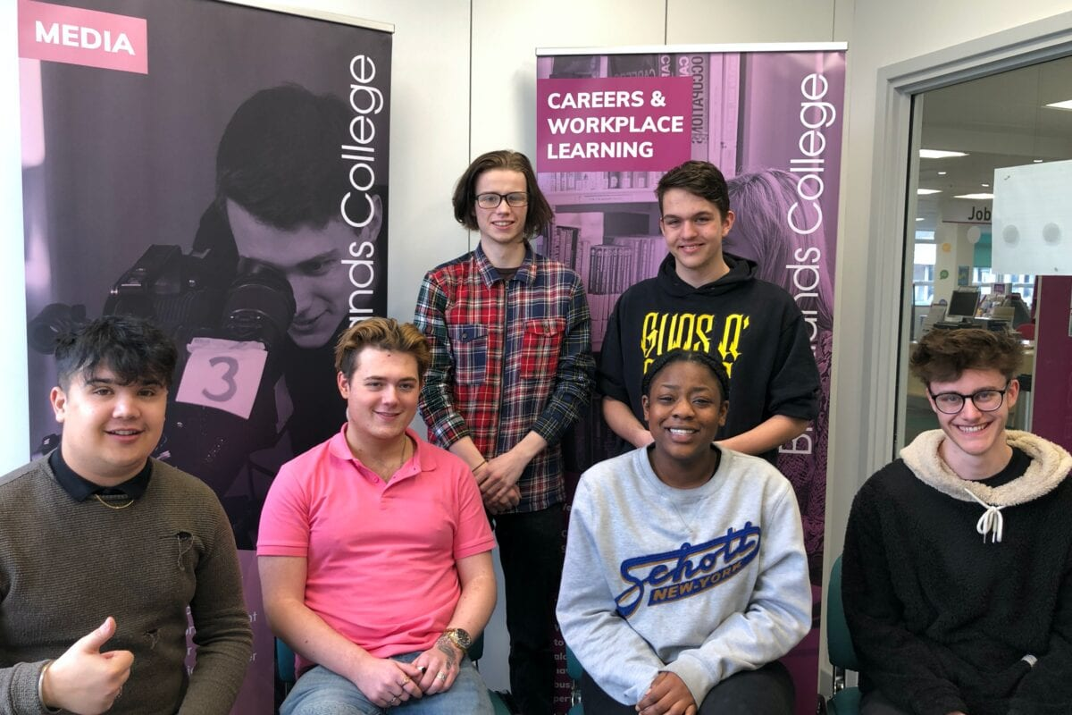 University & Me: Vinod, Jamie, Cillian, Sephora & Jonathan