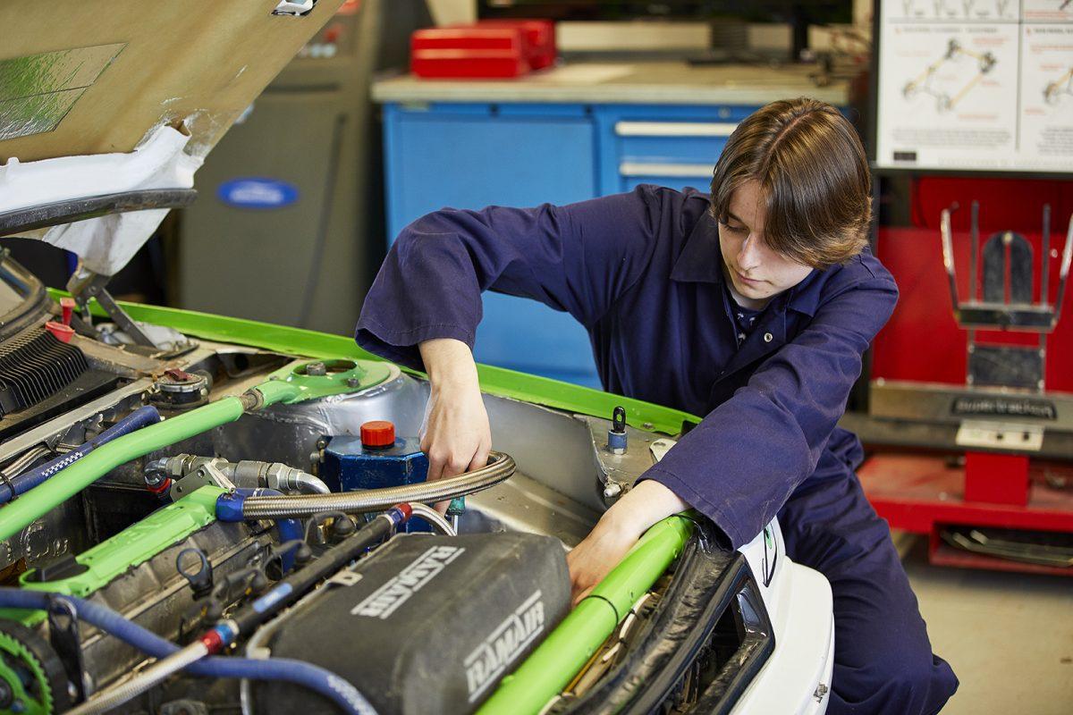 A Degree in Motorsport Engineering