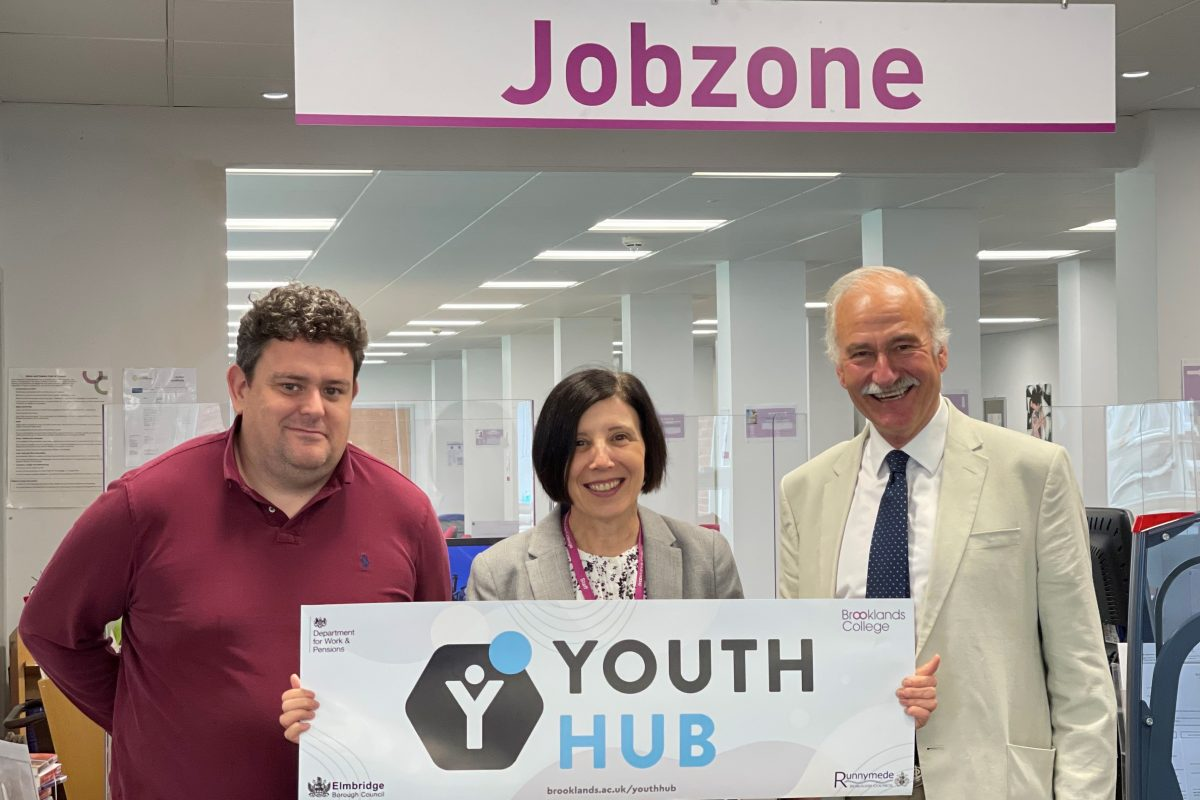 Councils launch Youth Hub in partnership with Brooklands College